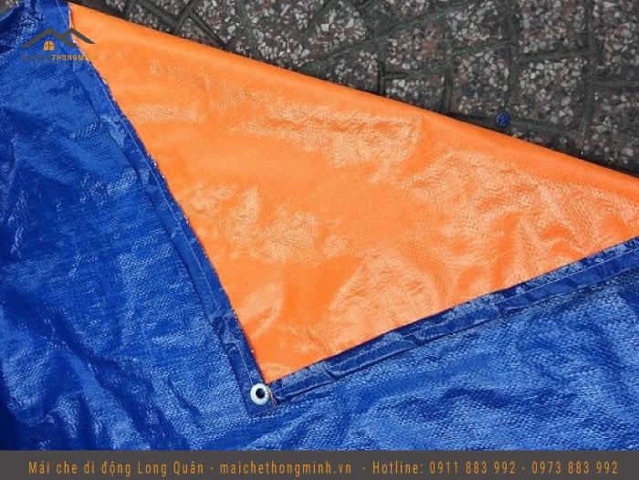 Bạt giá rẻ màu xanh cam