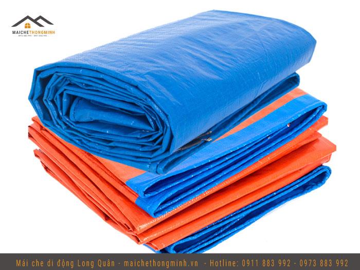 Bạt xanh cam chất lượng